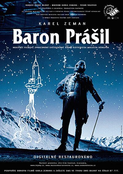 Plakát A1 Baron Prášil premiéra